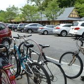 Village Center Bike and Car Parking (jpg)