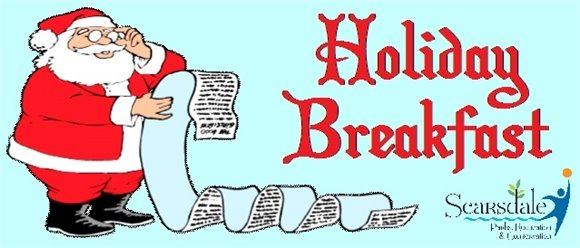 Holiday Breakfast Header