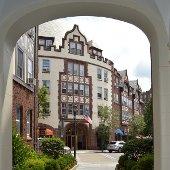 Village Center through Doorway (jpg)