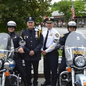 Police Chief with Officers on Motorcycles (JPG)