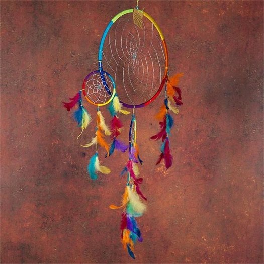 Dream catchers protect children from bad dreams