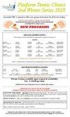 Platform Tennis Clinics 2nd Winter Series
