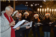 Carolers with Teacher
