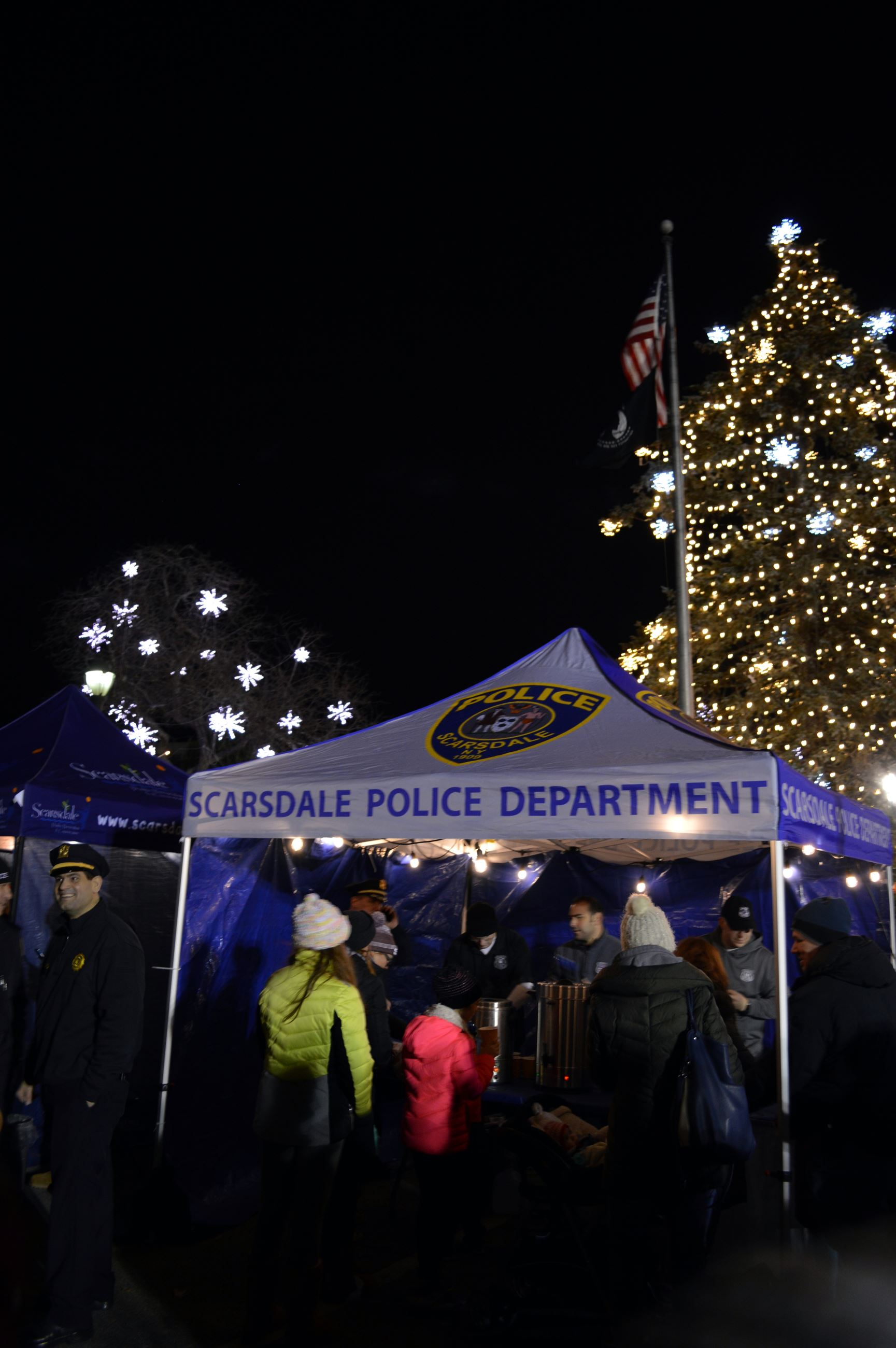 Loight the Dale - PD Tent with Holiday Lights Vert (jpg)