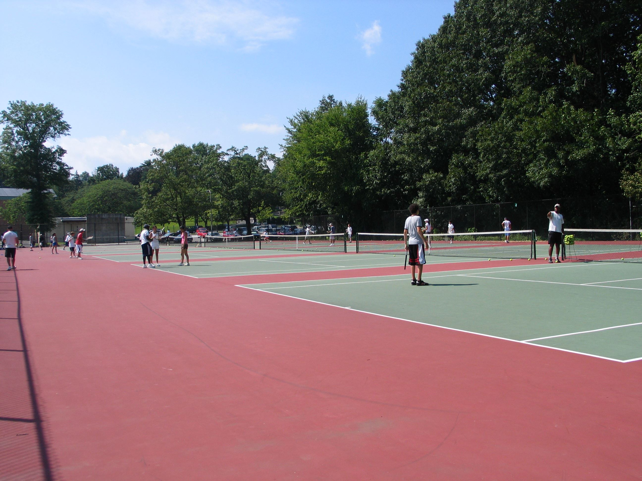 Middle School Tennis Courts